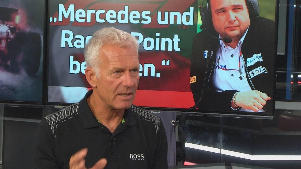 Im AvD Motorsport Magazin kritisieren Christian Danner und Colin Kolles das Team Racing Point. Sie stehen in der Kritik ihren Formel-1-Bolliden von anderen Rennställen abgekupfert zu haben.