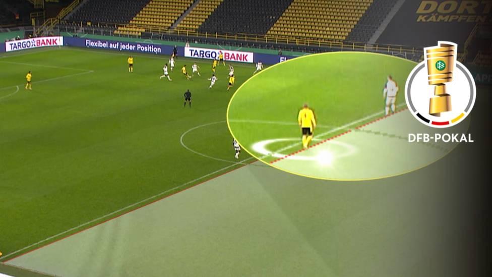 Borussia Dortmund darf weiter auf einen Triumph im DFB-Pokal hoffen. Der Erfolg im Achtelfinale gegen den SC Paderborn gerät zur Zitterpartie.