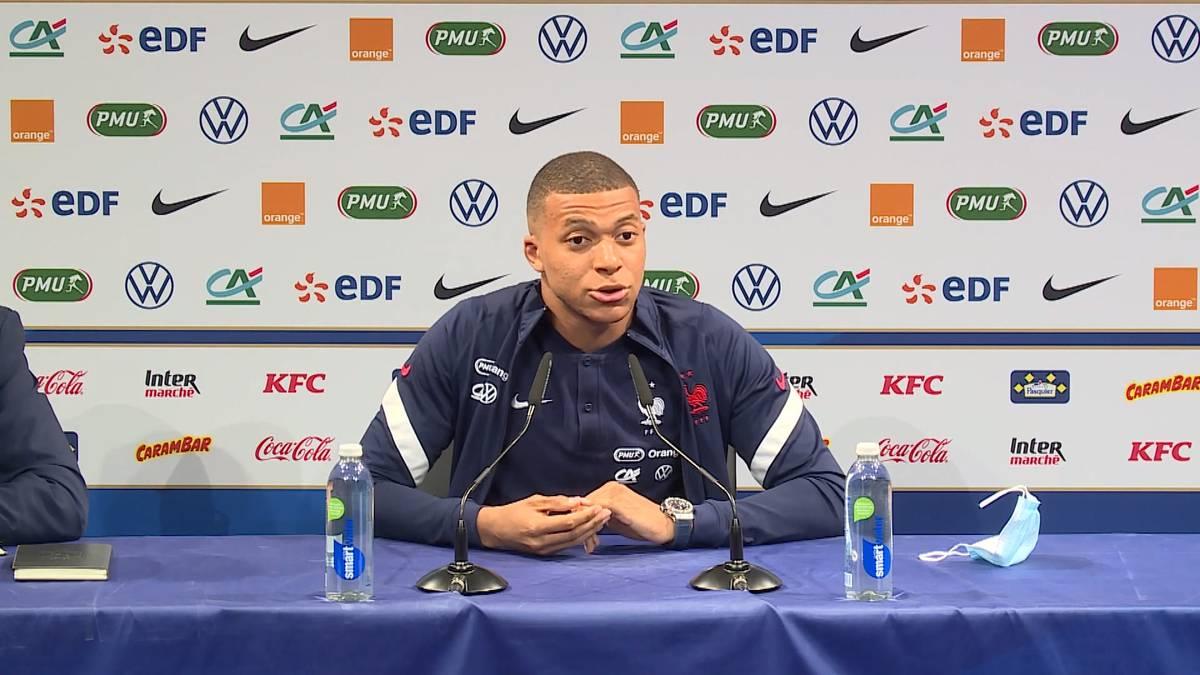 Intern lief die EM-Vorbereitung beim deutschen Auftaktgegner Frankreich nicht rund. Kylian Mbappé und Olivier Giroud zofften sich. Jetzt äußert sich der PSG-Star erstmals dazu.