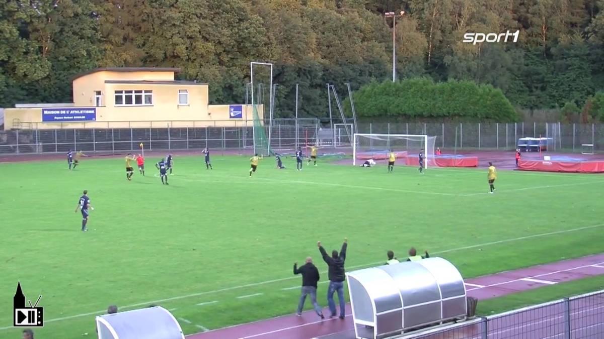 Mit einem Spiel vor 600 Zuschauern in Forbach startete Racing nach dem Zwangsabstieg in die 5. Liga. SPORT1 zeigt, wo das Fußballmärchen begann.
