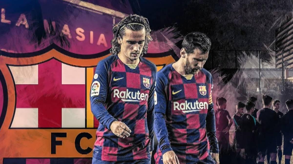Chaos beim FC Barcelona: Die Jugendarbeit steht in der Kritik, der Trainer auch, Antoine Griezmann wird mit einem Wechsel in Verbindung gebracht und die Zukunft von Superstar Lionel Messi wirft Fragen auf.