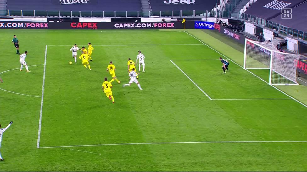 Achtes Tor im fünften Spiel. Einmal mehr brachte Cristiano Ronaldo die Alte Dame mit gleich zwei Treffern auf Siegkurs.