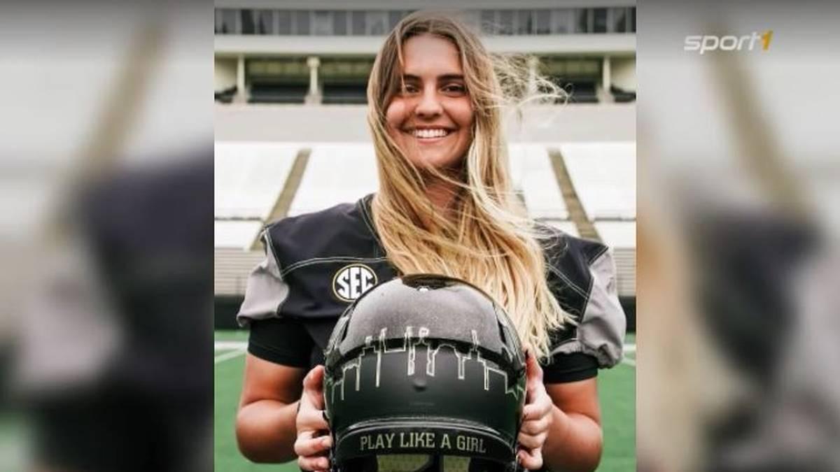 Football statt Soccer: Noch am Wochenende stand Sarah Fuller für die Vanderbilt Commodores zwischen den Pfosten - nun wurde sie in den Football-Kader der Männermannschaft ihrer Universität berufen.