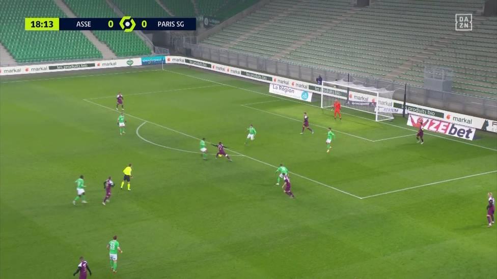 Im ersten Spiel unter Mauricio Pochettino patzt PSG beim Tabellen-14. in Saint-Etienne. Auch, weil das Starensemble den Hausherren die Führung praktisch schenkt.
