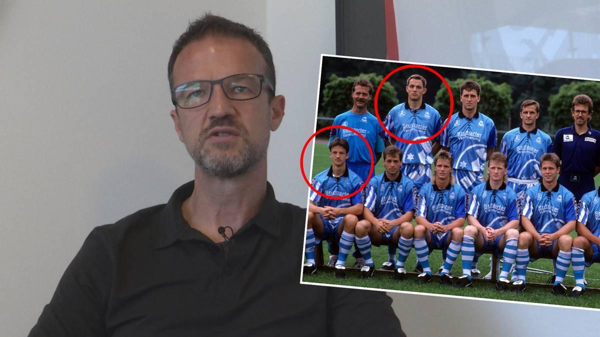 Fredi Bobic und Thomas Tuchel waren von 1992-94 Teamkameraden bei den Stuttgarter Kickers. So tickte der PSG-Coach als Spieler.