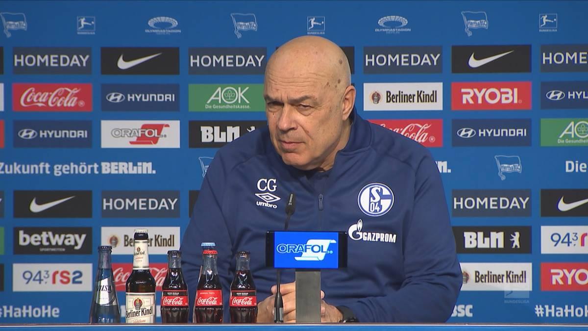 Der FC Schalke verliert auch bei der Premiere von Christian Gross. Der neue S04-Coach bezieht nach dem 0:3 gegen Hertha BSC Stellung und hofft auf weitere Transfers.