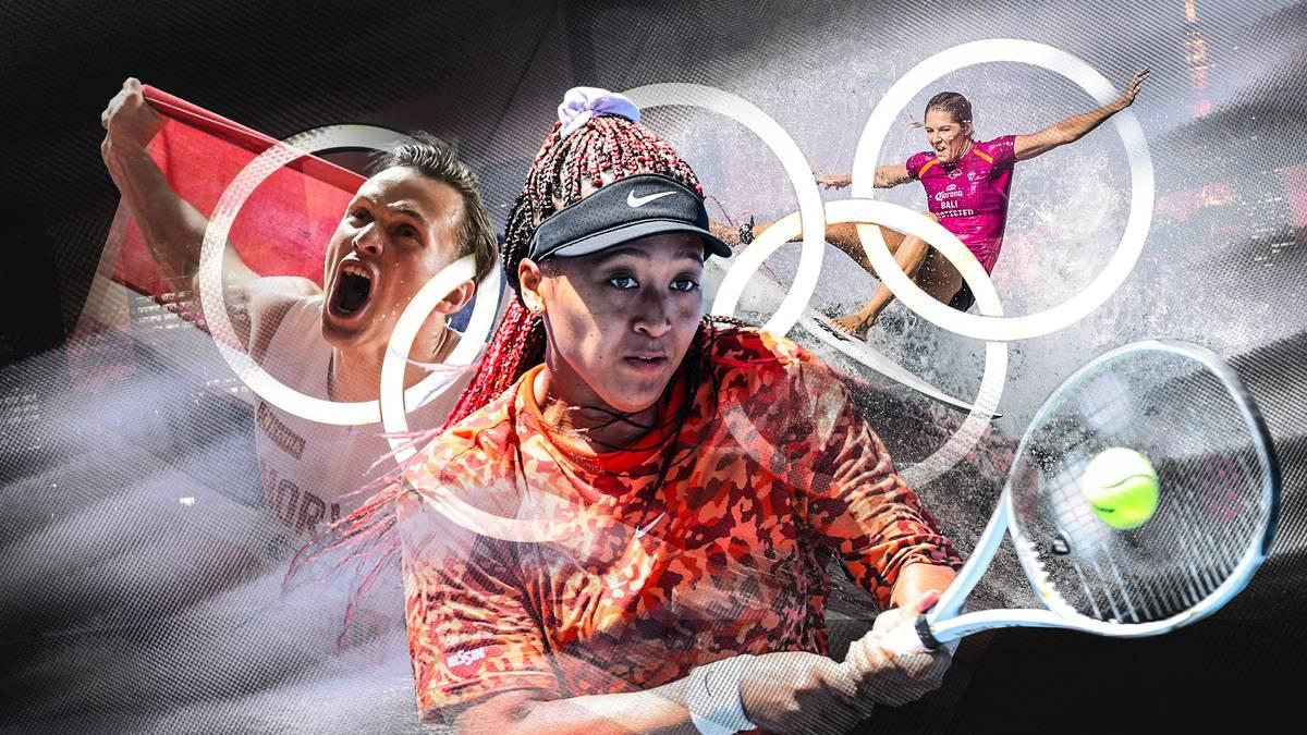 Die Besten der Besten gehen bei den Olympischen Spielen 2021 in Tokio an den Start. In ihren Sportarten sind sie absolute Superstars.
