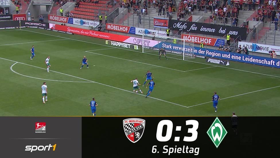 Werder Bremen marschiert gegen Ingolstadt zum nächsten Sieg. Neuzugang Mitchell Weiser brilliert bei seinem Debüt.