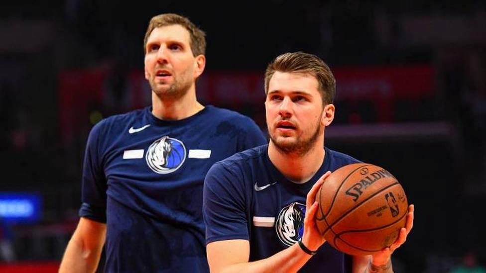 Bei der knappen 118-121 Niederlage der Dallas Mavericks gegen die Portland Trail Blazers hat Superstar Luka Doncic einen Rekord von Dirk Nowitzki gebrochen.