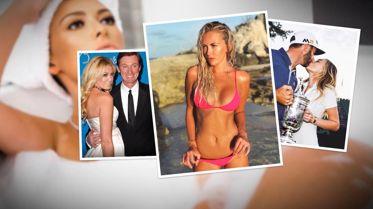 Ihre Kinder haben wohl die besten Voraussetzungen für eine Karriere als Sportler. Der Vater von Paulina Gretzky ist eine NHL-Legende und ihr verlobter Profi-Golfer.