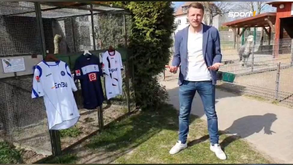 Maik Franz war zu seiner aktiven Zeit als Fußballprofi ein eisenharter Innenverteidiger. Nun zeigt der Ex-Herthaner Herz und ruft zur Spendenaktion für den Vogelpark in Berlin-Teltow auf.