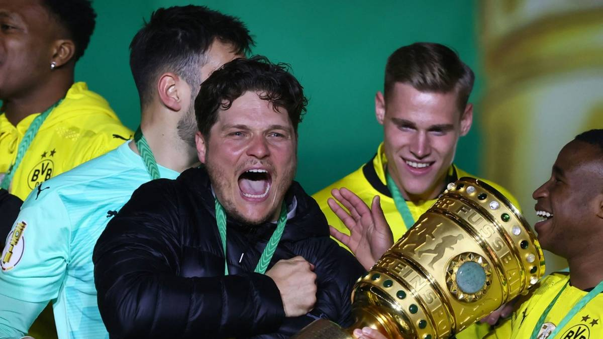 Der BVB führt RB Leipzig im Finale des DFB-Pokals eine Halbzeit lang nahezu vor - und zittert zwischendurch doch nochmal. Am Ende steht aber ein hochverdienter Sieg.