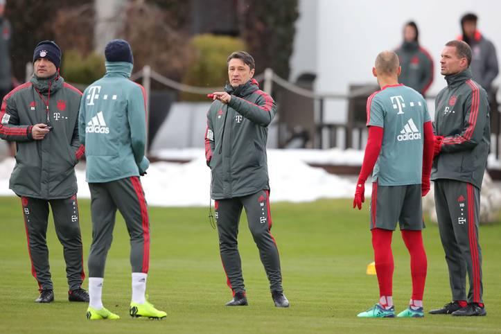 Trainer Niko Kovac hat vor dem Gastspiel des FC Bayern bei Borussia Mönchengladbach Personalsorgen