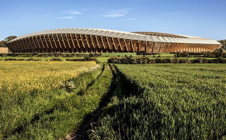 """Der Klubname ist selbst beim Stadionbau Programm. Der FC Forest Green Rovers will ein neues Stadion größtenteils aus Holz realisieren. In die geplante Arena des englischen Fünftligisten sollen 5000 Zuschauer passen. Laut der englischen """"Sun"""" soll der Neubau knapp 110 Millionen Euro kosten"""