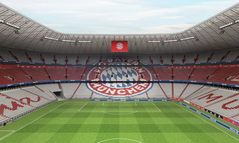 Es ist perfekt: Knapp ein Jahr nach dem Auszug von 1860 München aus der Allianz Arena wird das Stadion im Münchner Norden endgültig zum Bayern-Tempel. SPORT1 zeigt, wie die Allianz Arena künftig aussehen wird