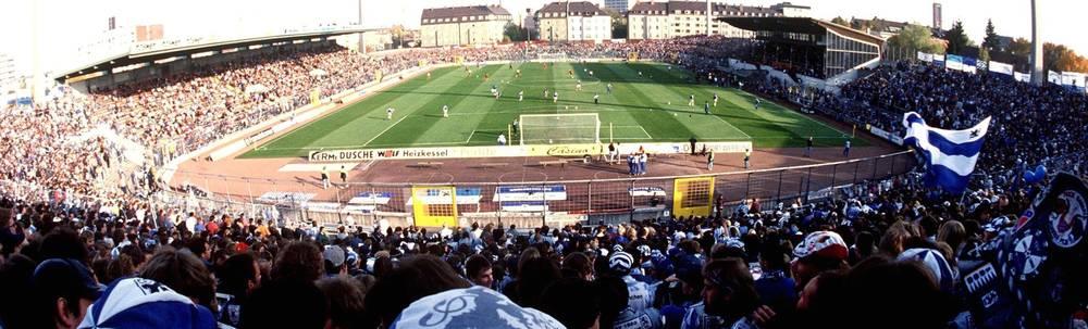 2.BUNDESLIGA 94/95 Stadion an der Gruenwalder Strasse von 1860 Muenchen
