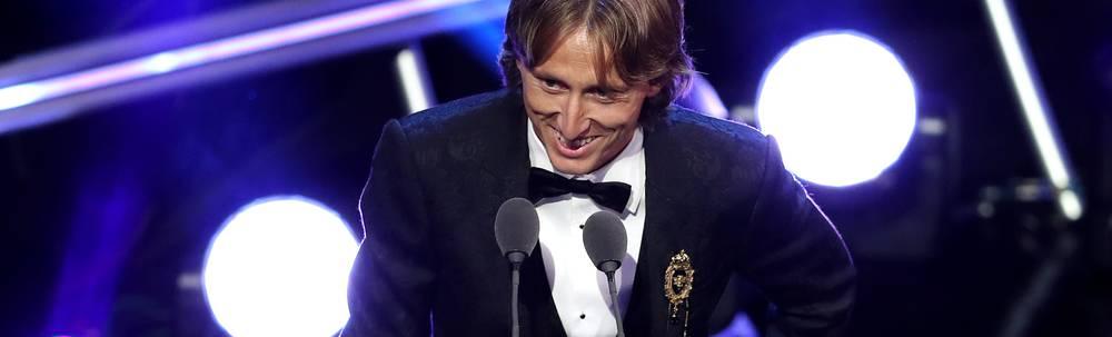 Luka Modric von Real Madrid löste Cristiano Ronaldo als Weltfußballer ab