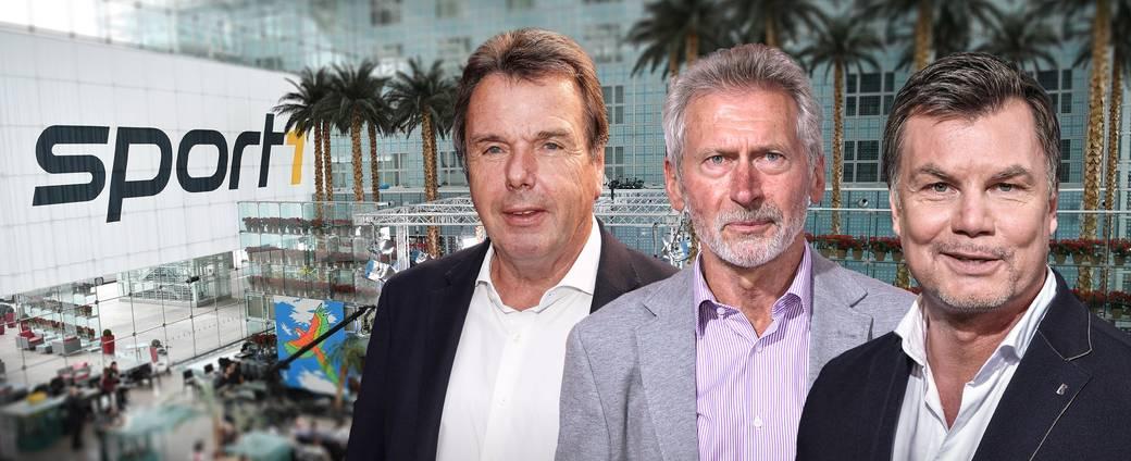 Heribert Bruchhagen und Paul Breitner sind zu Gast im CHECK24 Doppelpass