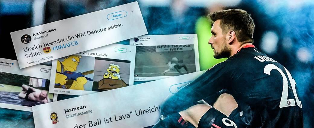 So lacht das Netz über Sven Ulreichs Patzer in der Champions League