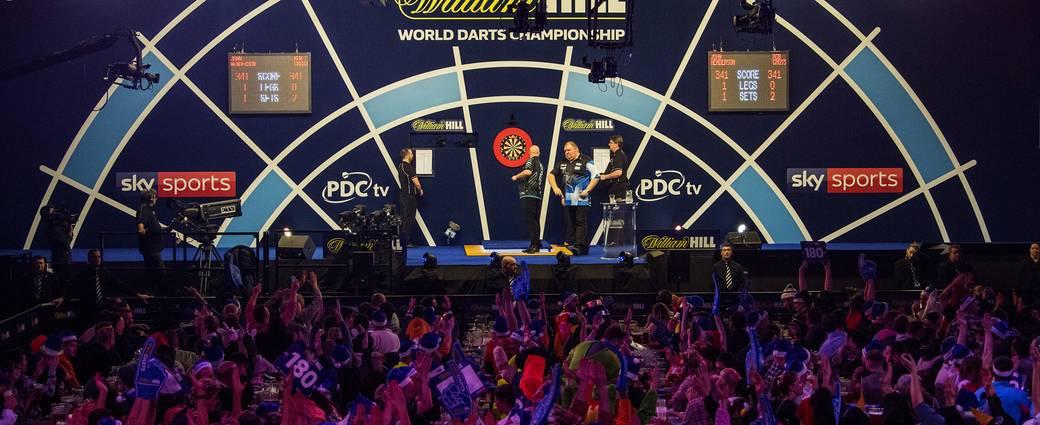 Die Darts-WM im legendären Alexandra Palace ist Jahr für Jahr ein Highlight.