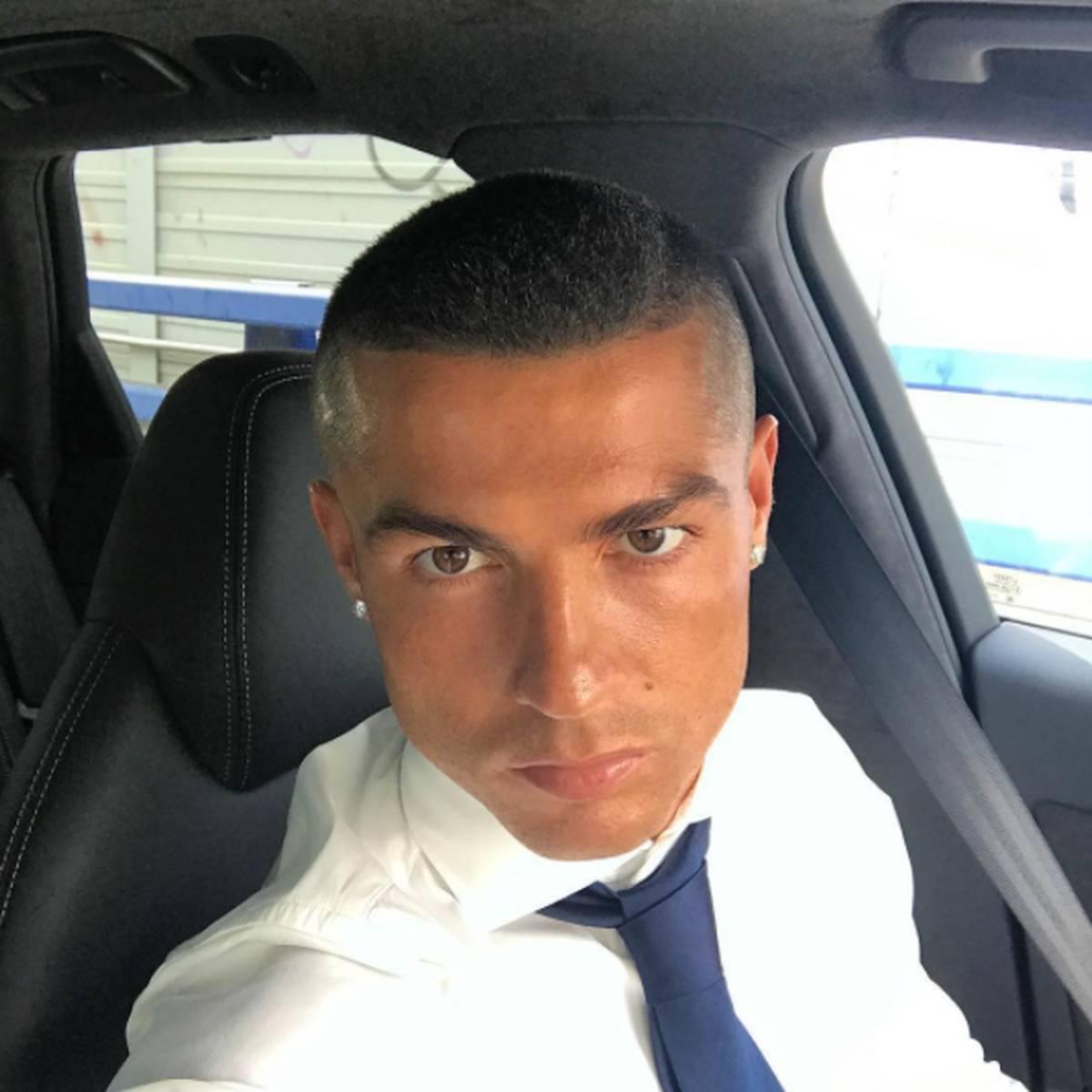Nach Champions League Triumph Cristiano Ronaldo Mit Neuer Frisur
