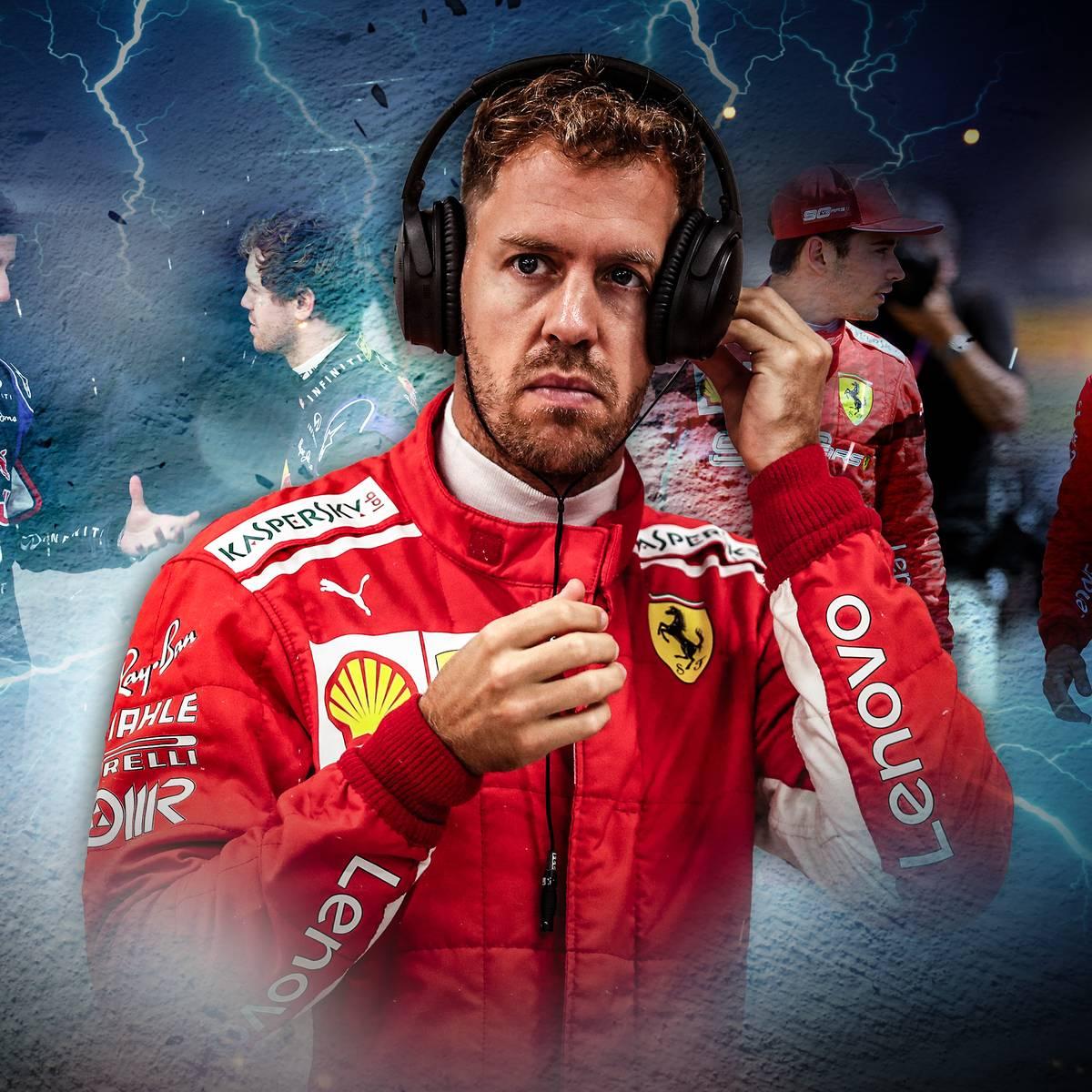 Leclerc macht Druck - flieht Vettel?