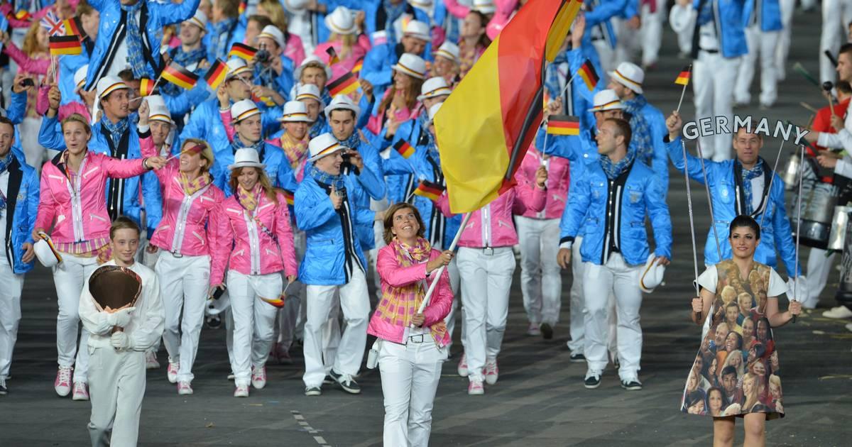 deutscher fahnenträger olympia 2019