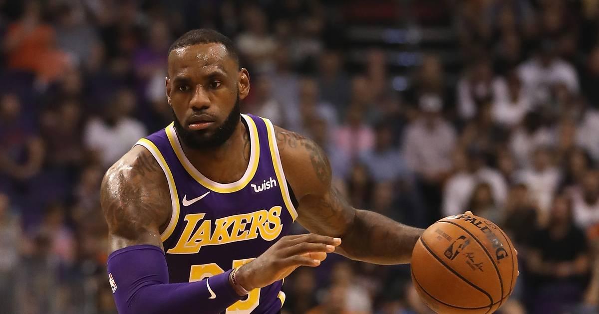 NBA: Los Angeles Lakers mit LeBron James siegen gegen Atlanta Hawks