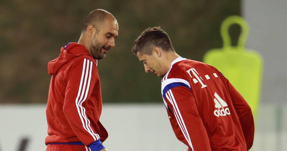 Guardiola zufrieden mit Lewandowski