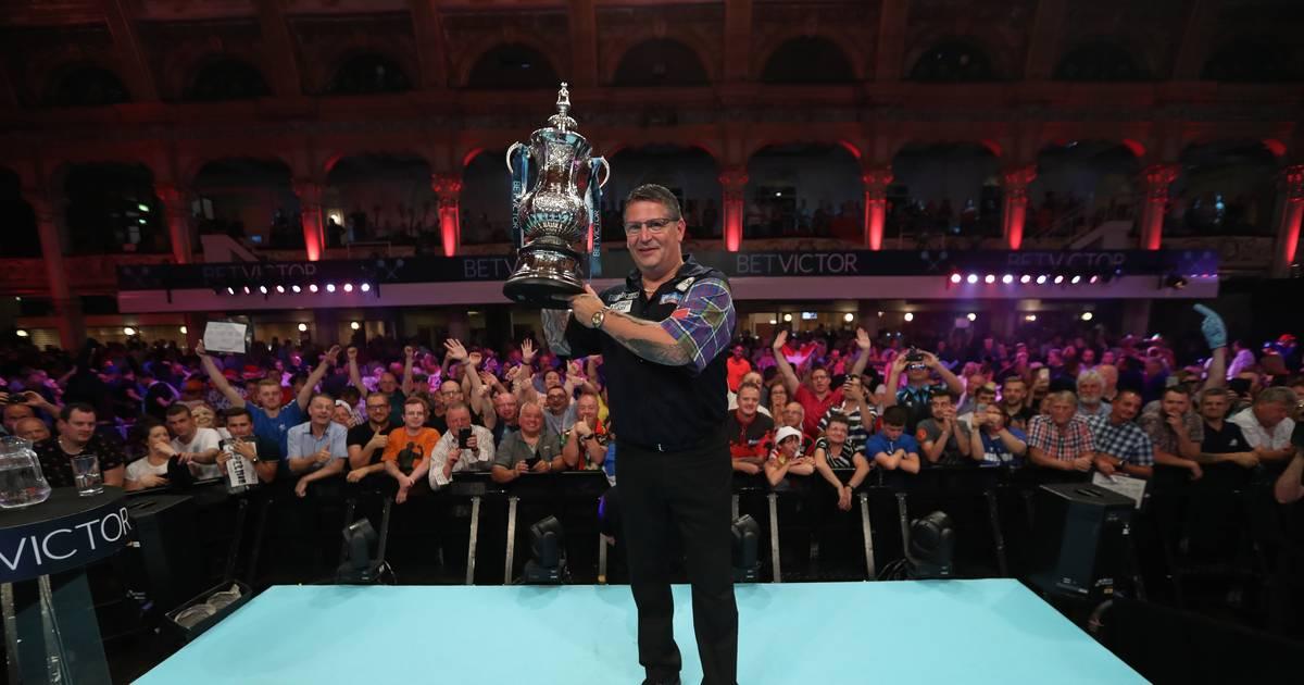 Darts World Matchplay: Gary Anderson gewinnt Final-Krimi gegen Mensur Suljovic