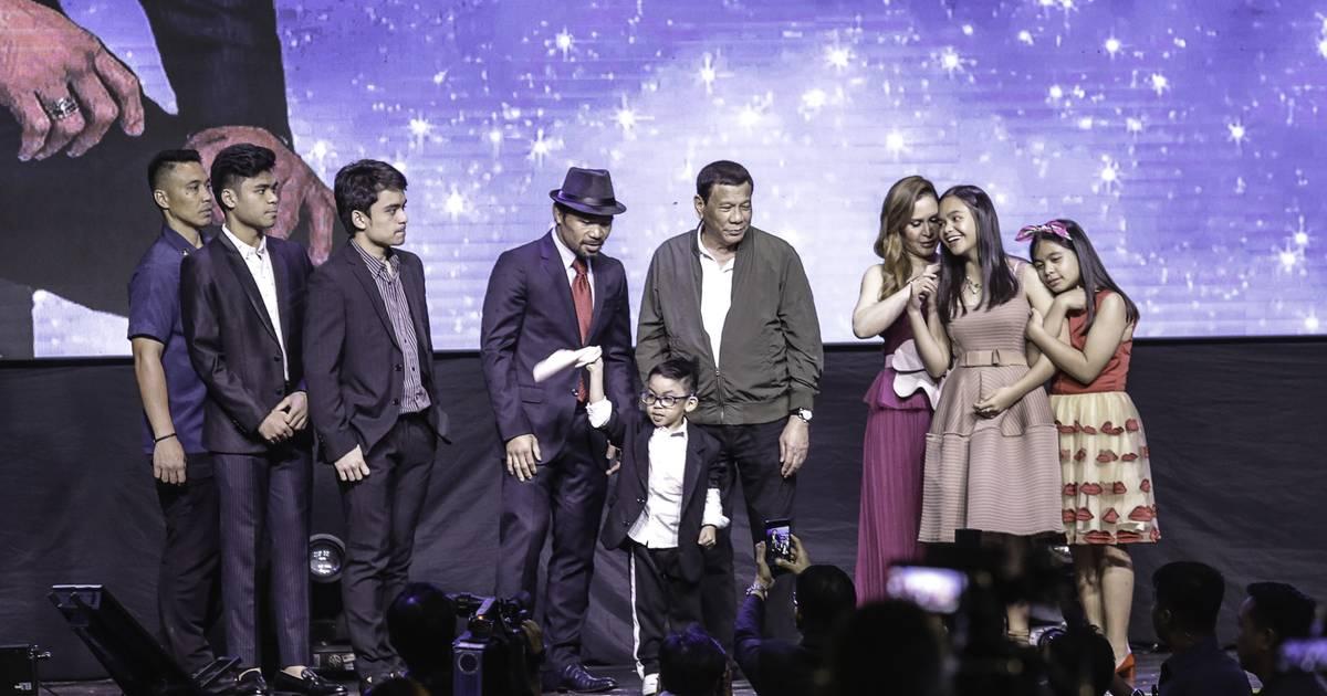 Pacquiao hofiert fragwürdigen Gast