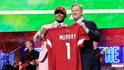 Kyler Murray wurde von den Arizona Cardinals an Nummer eins gepickt