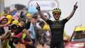 Simon Yates gewann die 15. Etappe der Tour de France