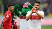 Ozan Kabak (r.) würde angeblich gerne vom VfB Stuttgart zum FC Bayern München wechseln