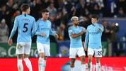 Leicester City v Manchester City - Premier League: Die Stars von Manchester City hadern derzeit mit ihrem Schicksal