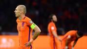Arjen Robben traf doppelt für die Niederlande gegen Schweden