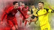 Schlüsselduelle FC Bayern - BVB