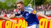 Holstein Kiel v Hallescher FC - 3. Liga