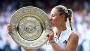 Angelique Kerber holte in Wimbledon im Finale gegen Serena Williams ihren dritten Grand-Slam-Titel ihrer Karriere