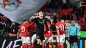 Eintracht Frankfurt kassierte im Viertelfinal-Hinspiel der Europa League eine herbe Niederlage
