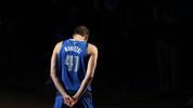 Dirk Nowitzki wurde mit der Nummer 41 zur NBA-Legende bei den Dallas Mavericks