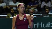 Beim WTA-Championship erreichte Kiki Bertens das Halbfinale