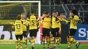 Borussia Dortmund liegt nach der Hinrunde mit sechs Punkten Vorsprung vor Bayern auf Platz eins