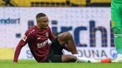 Hannover 96: Sarenren Bazee fällt mehrere Monate aus, Noah Joel Sarenren Bazee fällt mit einem Syndesmoseriss im linken Sprunggelenk lange aus