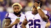 Odell Beckham, Saquon Barkley, New York Giants