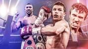 Die besten Boxer der Welt mit Joshua, Wilder, Alvarez