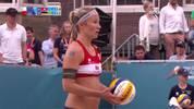 Beachvolleyball: Deutschland scheidet im EM-Viertelfinale gegen die Schweiz aus