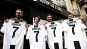 Das Trikot von Cristiano Ronaldo ist in Turin heiß begehrt
