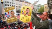 Nach zwölf Jahren beim FC Bayern verlässt Franck Ribéry den deutschen Rekordmeister. SPORT1 blickt zurück und zeigt seine Entwicklung bei den FIFA FUT-Karten.
