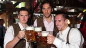 Bayern Munich Attends The Oktoberfest